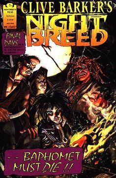 Clive Barker's Night Breed #21 - The Mad God Baphomet, Part 1 (Issue)