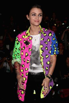 Ruby Rose Photos - MBFWA S/S 2012/13 - Ksubi Arrivals & Front Row - Zimbio