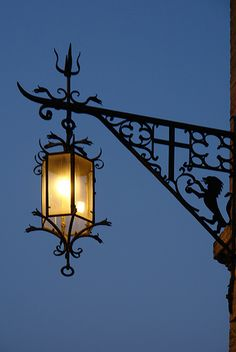 Assisi street lantern ... by he_boden, via Flickr