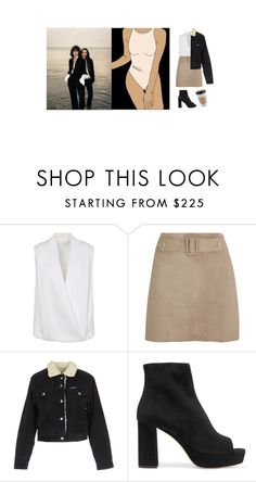 """too dumb for new york too ugly for la"" by pillowfox ❤ liked on Polyvore featuring Mauro Grifoni, Calvin Klein Collection, Pepe Jeans London and Miu Miu"
