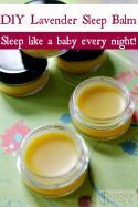 Having trouble sleeping? If so and you're on the hunt for home remedies for insomnia, stop looking! This Lavender Sleep Balm is just what you need to sleep like a baby every single night!