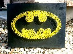 Batman Superhero String Art Room Decoration Man by ThejewelryCage