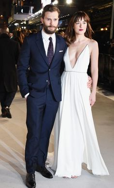 Jamie and Dakota at the UK Premiere of Fifty Shades of Grey #FSOG