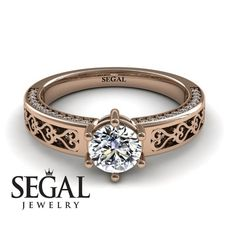 How Are Vintage Diamond Engagement Rings Not The Same As Modern Rings? If you're deciding from a vintage or modern diamond engagement ring, there's a great deal to consider. Elegant Engagement Rings, Rose Gold Engagement Ring, Designer Engagement Rings, Wedding Rings Vintage, Vintage Rings, Vintage Bridal, Unique Vintage, Etsy Vintage, Unique Rings