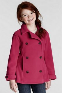 Lier from the ikatbag blog linked to this Lands End coat. It's just fleece, and she's going to sew it this fall for her girls. I wish I had the pattern making skills to do the same!