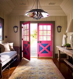 casual style of entry (not the pink doors) - stephen gambrel