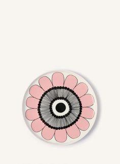 Marimekko, Plates, Tableware, Illustrations, Pottery, Organic Shapes, Plants, Patterns, Licence Plates