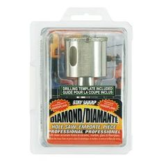 Exchange-A-Blade 1-1/2-In Diamond Non-Arbored Hole Saw 2056652