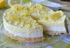 Osviežujúci citrónový cheesecake s bielou čokoládou Cheesecakes, No Bake Desserts, Dessert Recipes, Ice Cream Candy, How Sweet Eats, Food Cakes, Cake Creations, Cheesecake Recipes, Cake Cookies