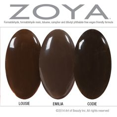 No Dupes Here! Zoya Louise, Emilia, and Codie