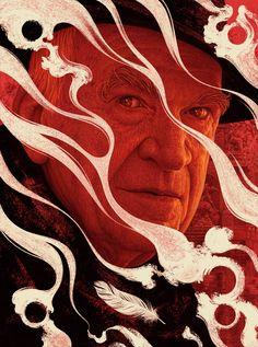 Milan Kundera on Behance