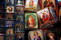 Bucharest saints & Mamă.