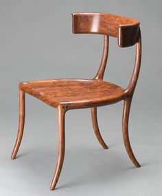 Custom Chair, Klismos Chair, Handmade Walnut by Scott Morrison