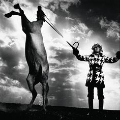 It was during this period that the German produced his most daring and influential photographs for publications such as French Vogue, where he gained an international reputation in the 1970s...  -Helmut Newton
