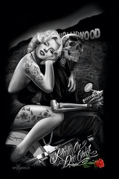 Marilyn, other worldly she was a inspiration to strong women.♡♡♡