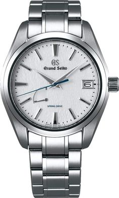 Buy and sell luxury watches on StockX including the Grand Seiko Spring Drive Snowflake in Stainless Steel and thousands of other luxury watches from top brands. Sport Watches, Cool Watches, High End Watches, Swiss Army Watches, Beautiful Watches, Elegant Watches, Stylish Watches, Seiko Watches, Luxury Watches For Men