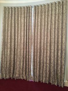 These wonderful wave curtains are made in Voyage Glencoe fabric. If you are thinking about having wave curtains, you need to consider the fabric pattern and whether it will look good in a wave shape. Wave Curtains, Made To Measure Curtains, Soft Furnishings, Fabric Patterns, This Is Us, Blinds, Shapes, Projects, How To Make