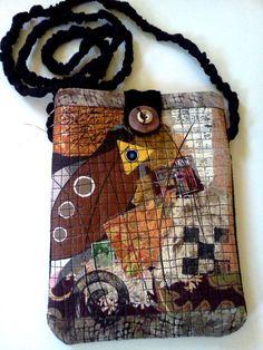 Anna Hinkle - brown cross body bag