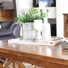 Ideias para decorar a mesa de centro . . #decasalimpa #home #casa #decor #ideias #casaarrumada #decoração #homedecor #blogsdecor #blogDCL #pin #lar