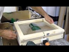 FABRICATION VERRIERE PILATUS PC-6 THERMOFORMAGE - YouTube