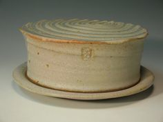 BUTTER DISH III 67 by carterthepotter on Etsy