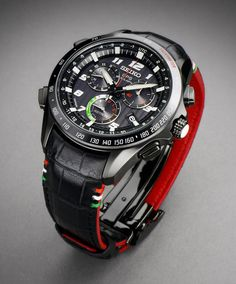 Seiko Astron Solar GPS Chronograph Limited Edition Styled By Giugiaro Design Watch Releases Amazing Watches, Beautiful Watches, Cool Watches, Watches For Men, Dream Watches, Sport Watches, Luxury Watches, Seiko Watches, Men's Accessories