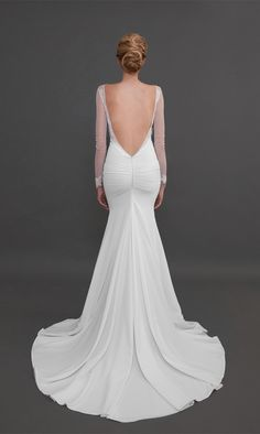 Wedding dresses with unique backs that make you say