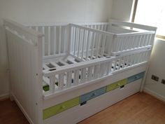 1000 images about cuna on pinterest co sleeper bebe - Cunas para bebes gemelos ...