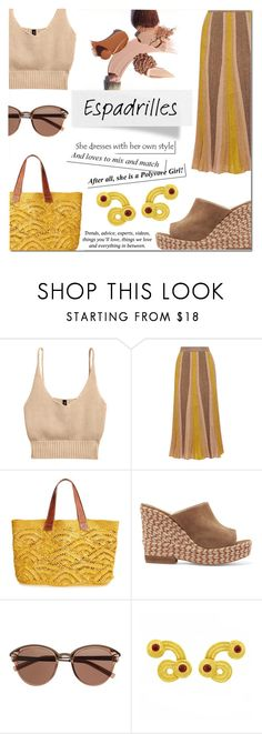 """sunday morning"" by ztugceuslu ❤ liked on Polyvore featuring Missoni, Mar y Sol, Paloma Barceló, Witchery, Pussycat and espadrilles"
