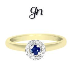 Halo, Sapphire, Engagement Rings, Facebook, Jewelry, Natural Diamonds, Gold Rings, Branding, Handbags