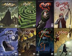 1602 Graphic Novel Season 1 : Episode 18 #educatinggeeks #1601 #marvel
