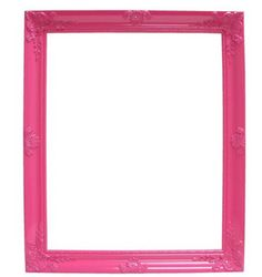 Pink Frame Photo Booth Props #photobooth