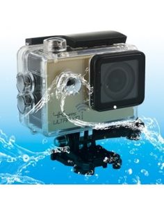 SJ8000 WiFi Novatek 96660 Ultra HD 4K 2.0 inch LCD Sports Camcorder with Waterproof Case, 170 Degrees Wide Angle Lens, 30m Waterproof(Gold)