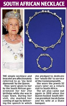 The South African Necklace set