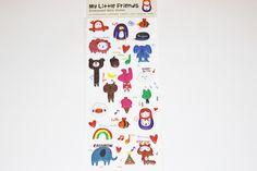 Sticker  my little friend Elefanten und mehr von Perlenblitz auf DaWanda.com