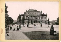 Prague, Theatres, Concert Hall, Vintage Prints, Opera House, Louvre, Houses, History, Building