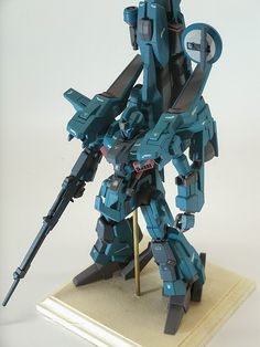 Custom Build: HGUC 1/144 ReZEL + Mega Ride Launcher - Gundam Kits Collection News and Reviews
