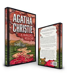 Agatha Christie Book Cover on Behance
