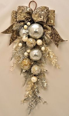 Stunning Ornament and Crystal Christmas