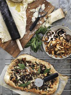 Mushrooms for dinner