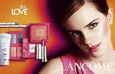 Emma Watson Lancôme In Love Beauty Collection