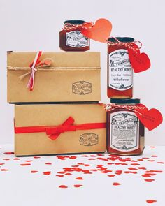 Valentine's Day Gifts - H.L. Franklin's Healthy Honey