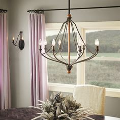 Shop Kichler Lighting  Carlotta 8-Light Distressed Black Wood Hardwired Standard Chandelier at Lowe's Canada. Find our selection of chandeliers at the lowest price guaranteed with price match + 10% off.