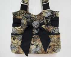 Purse, Fabric Purse, Handbag, Shoulder Bag, Handmade Purse, Tote, Pocket Palooza Handbag - Built In Organizer Pockets
