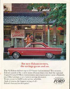 1965 FORD FALCON vintage magazine advertisement