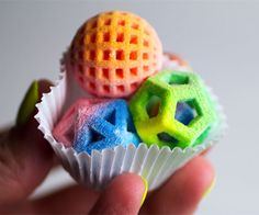 3D printed candy by The Sugar Lab
