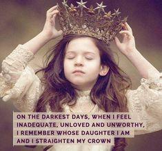 Straighten your crown.