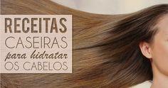 3 receitas de máscaras caseiras para o cabelo - Site de Beleza e Moda