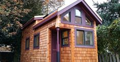 You Would Never Think She Built This 200-Ft² Tiny House On Her Own…But She Did! via LittleThings.com