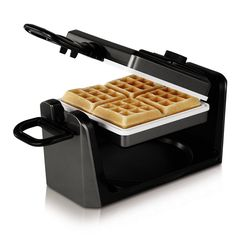 Oster CKSTWF11WC-ECO DuraCeramic Belgian Flip Waffle Maker, Black >>> This is an Amazon Affiliate link. Want to know more, click on the image.